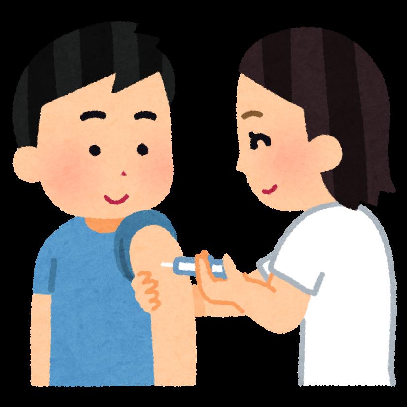 インフルエンザワクチン接種、始まりました。